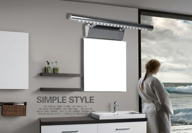 怎样选择浴室镜前灯?